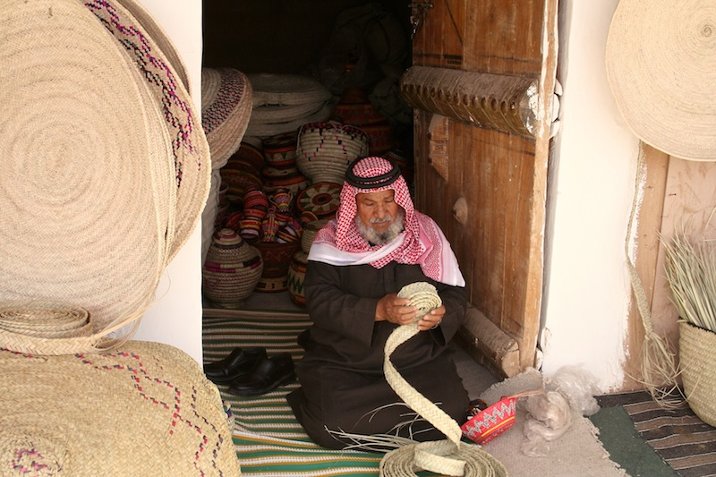 Saudi Arabia's Handicrafts market at the Janadriyah Festival