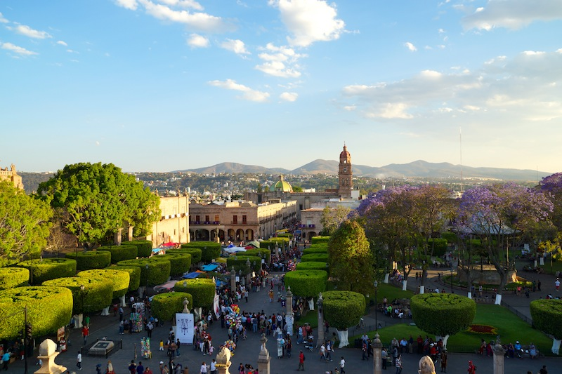 The beautiful Morelia, Michoacan