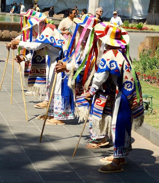Old Men's dance in Michoacan