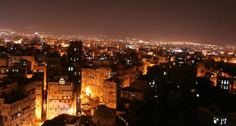 Market in Sana'a, Yemen