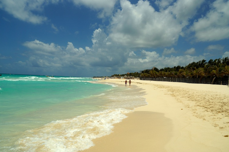 Playa del Carmen and memories of the Sea
