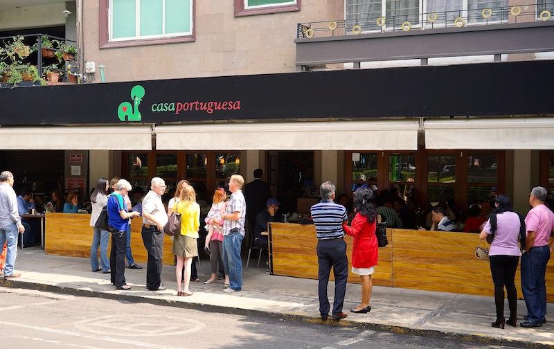 Breakfast at Casa Portuguesa in Polanco