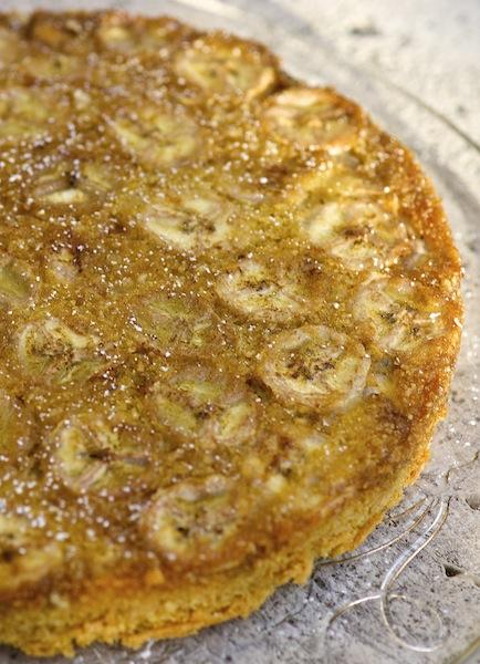 Gluten Free Banana Almond Cake