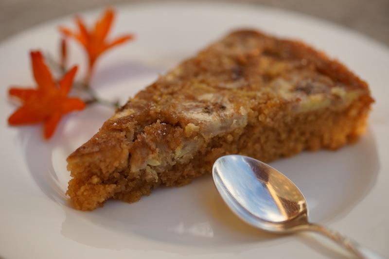 Gluten Free Banana Almond Cake DSC06412 copy