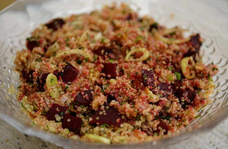 Quinoa Salad with Roasted Beetroot DSC06938 copy