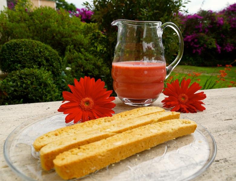 Cardamom Biscotti & Strawberry Mint Smoothie DSC07125 copy