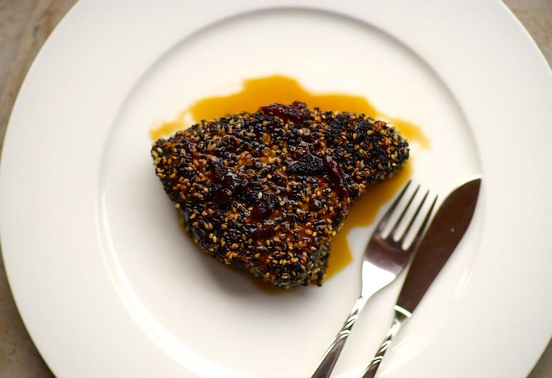 Chipotle Crusted Tuna Steak