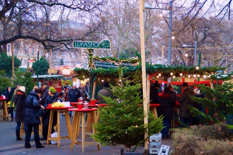 Christmas Markets in Vienna – Karlsplatz