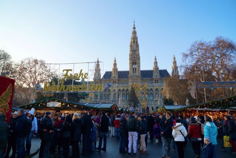 Christmas Markets in Vienna – Rathaus