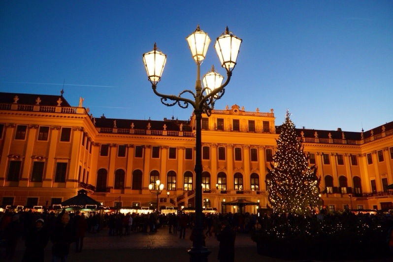 Christmas Markets in Vienna – Schoenbrunn