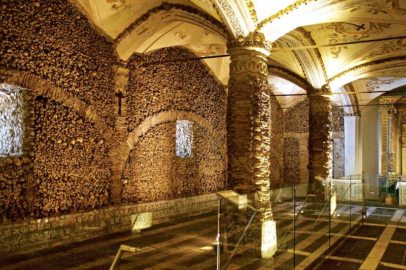Bones Chapel in Evora, Portugal DSC02064 copy