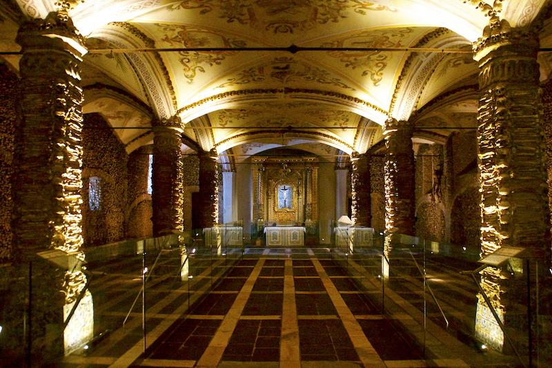 Bones Chapel in Evora, Portugal DSC02068 copy