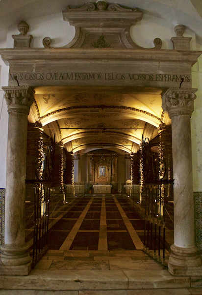Bones Chapel in Evora, Portugal DSC02071 copy
