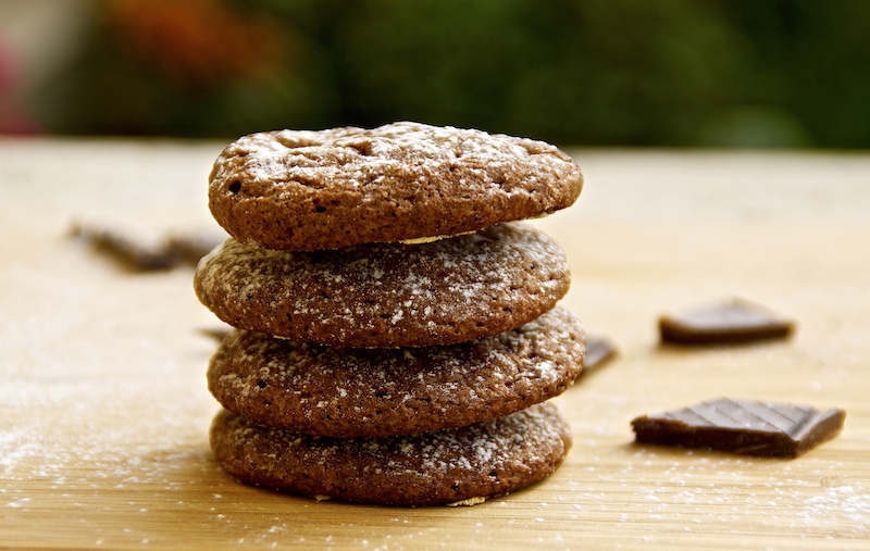 Super Fast Chocolate Cookies
