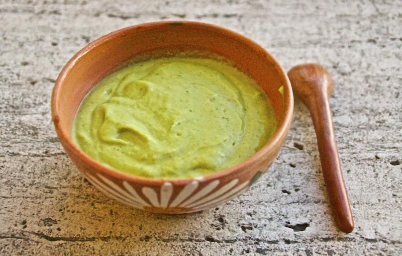 Healthy Mexican Avocado Soup