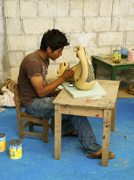 The artisans of Chiapas - Amatenango del Valle DSC03923 copy