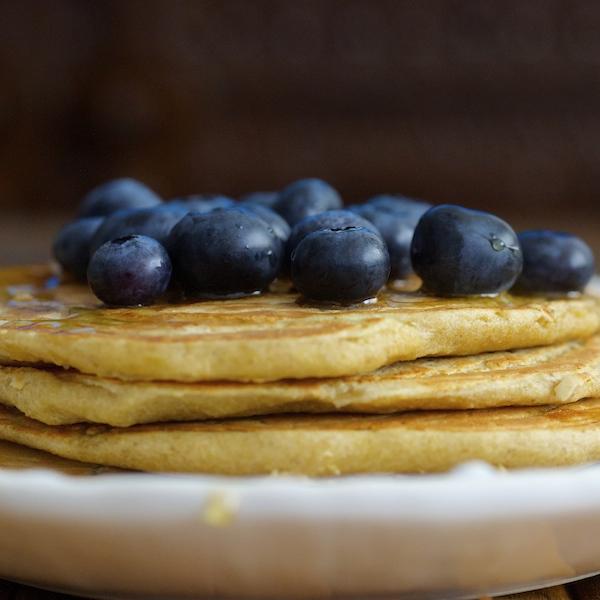 Healthy Gluten Free Oat Pancakes