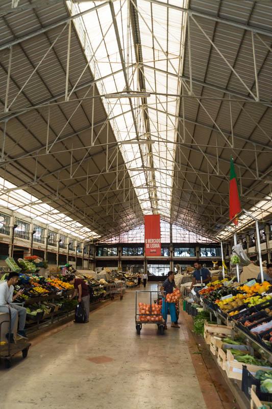 Exploring Mercado da Ribeira