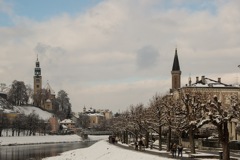 Snow, Salzburg and Literature