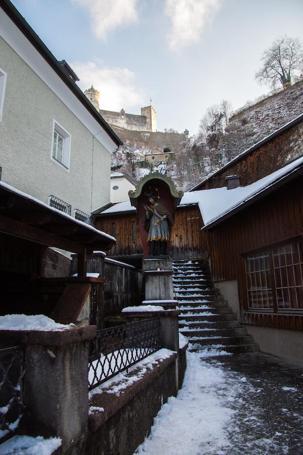 Snow, Salzburg and Literature
