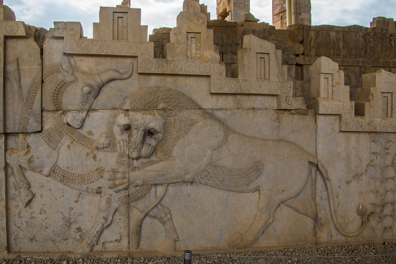 In the footsteps of Alexander at Persepolis