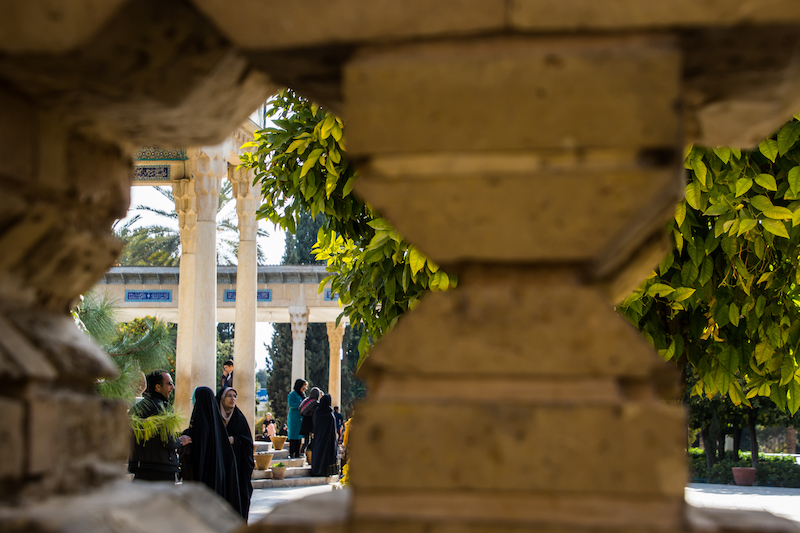 Honoring Saadi and Hafez in Shiraz
