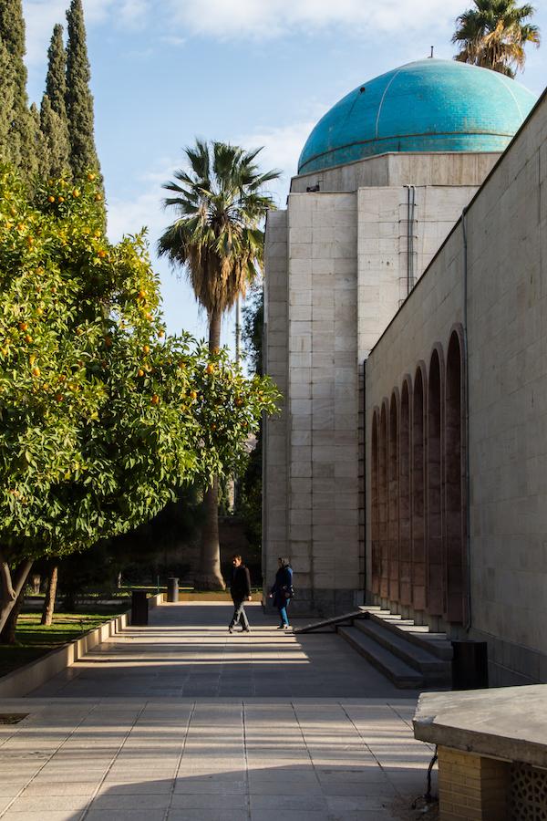 Honoring Saadi and Hafez in Shiraz