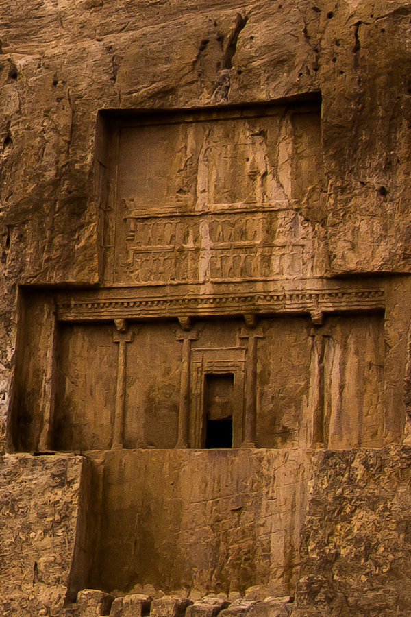 Naqsh-e Rustam majestic tombs of Persian kings