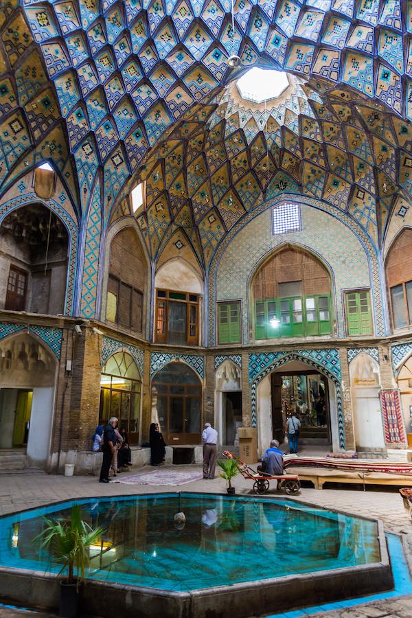 Discovering Kashan Bazar