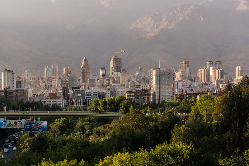 Postcards from Tehran: Tabiat Bridge