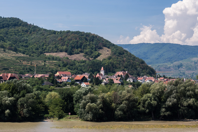 Visiting Dürnstein: Richard Lionheart, apricots and saffron