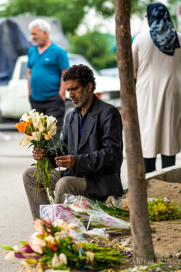 Postcards from Tehran:Mahallati Flower Market